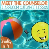 Meet the School Counselor Classroom Guidance Lesson and Activity, Counseling