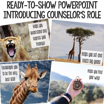 Meet the School Counselor Classroom Guidance Lesson for Early Elementary/Primary