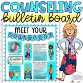 Meet the School Counselor, Social Worker, Psychologist Bulletin Board or Poster!
