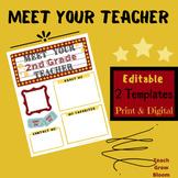 Meet the Second Grade Teacher