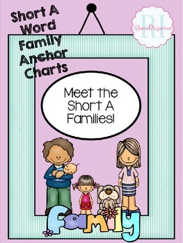 Meet the Short A Word Families - Anchor Charts