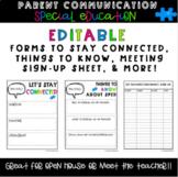 Meet the Teacher Letters for Special Education Teachers