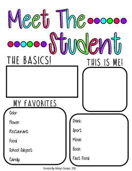 Meet the Student (vol.1)