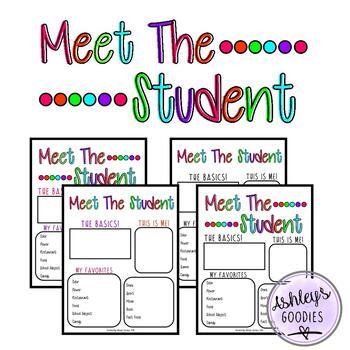 Meet the Student (vol.2)