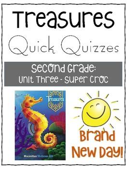 Meet the Super Croc Quick Quiz - Treasures Grade 2