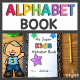 Kindergarten Superkids Alphabet Book