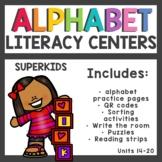 The Superkids Club Kindergarten Literacy Centers Units 14-20