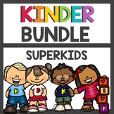 Kindergarten Superkids BUNDLE