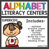 Meet the Superkids Kindergarten Literacy Centers Units 7-13