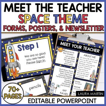 Meet the Teacher-Space Theme