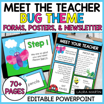 Meet the Teacher-Bugs