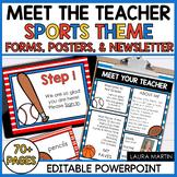 Meet the Teacher-Sports Theme
