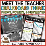 Meet the Teacher-Chalkboard