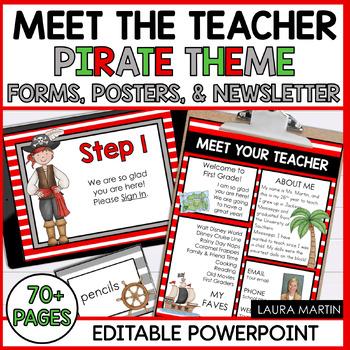 Meet the Teacher-Pirates Theme