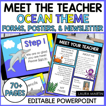 Meet the Teacher-Ocean Theme