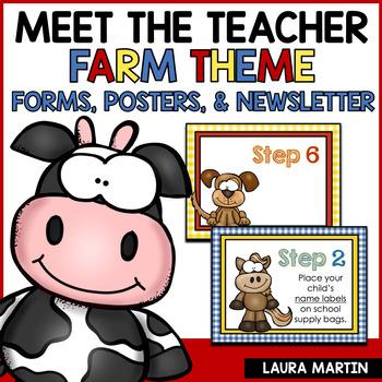 Meet the Teacher-Farm Theme