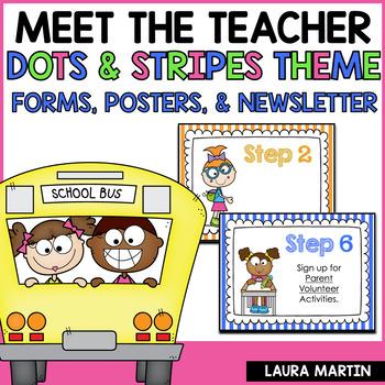 Meet the Teacher-Dots and Stripes