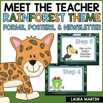 Meet the Teacher-Rainforest