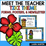 Meet the Teacher-Tiki Theme