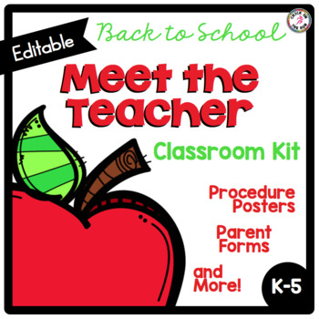 Meet the Teacher Kit