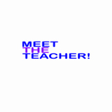Meet the Teacher! Animation