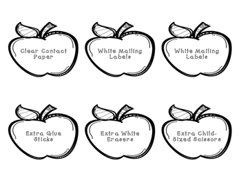 Meet the Teacher Apples