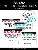 Meet the Teacher/Open House Arrow Signs