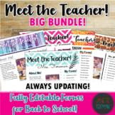 Meet the Teacher BIG BUNDLE! | Back to School | Templates