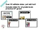 Meet the Teacher/ Back to School Night Editable PowerPoint- Clean and Simple