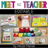 Meet the Teacher | Back to School | Open House EDITABLE