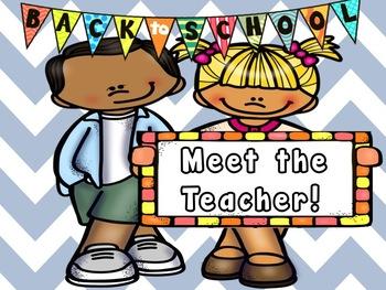 Meet the Teacher Bundle!