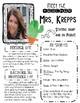 Meet the Teacher (Cactus Themed) Editable!