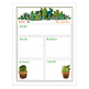Meet the Teacher Template EDITABLE Cactus Themed Newsletter .doc, PPT
