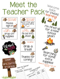 Meet the Teacher Camping Theme