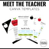 Meet the Teacher Canva Template