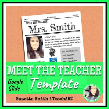 Meet the Teacher - EDITABLE