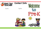 Meet the Teacher Editable BROCHURE