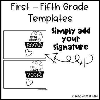 Meet the Teacher - Editable Card For Gift
