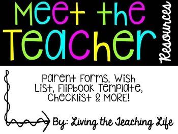 Meet the Teacher {Editable Edition}
