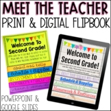 Meet the Teacher Editable Flip Book