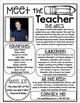 Meet the Teacher Editable Newsletter Back to School Open House
