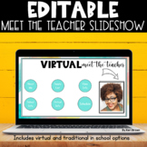 Meet the Teacher Editable PowerPoint   Virtual Meet the Te