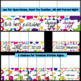 Bright Colors Meet the Teacher- Editable Set