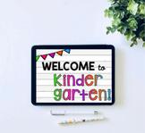 Meet the Teacher Editable Slideshow