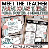 Meet the Teacher-Farmhouse