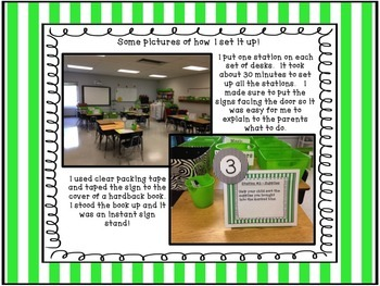 Meet the Teacher - First Day of School Stations - Back to School!