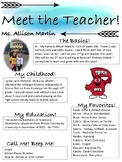 Meet the Teacher Flyer