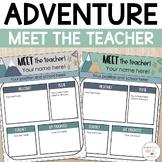 Meet the Teacher Template | Meet the Teacher Handout | Dig