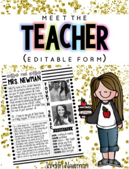 meet the teacher letter template image collections
