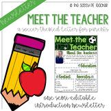 Meet the Teacher Letter - Soccer